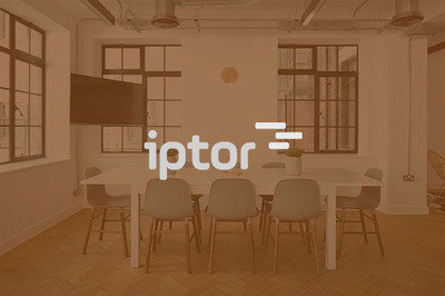 iptor logo - voice recognition announcement