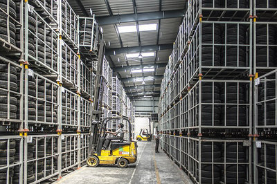 WMS sophistication - forklift