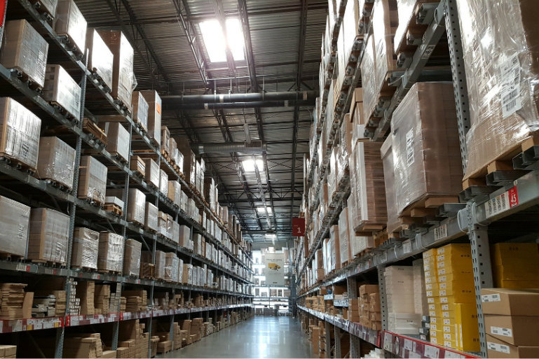 WMS implementation checklist - warehouse row