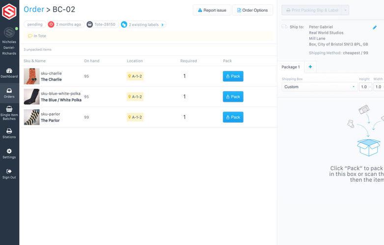 ShipHero WMS Software Profile - WMs Pricing, Demo