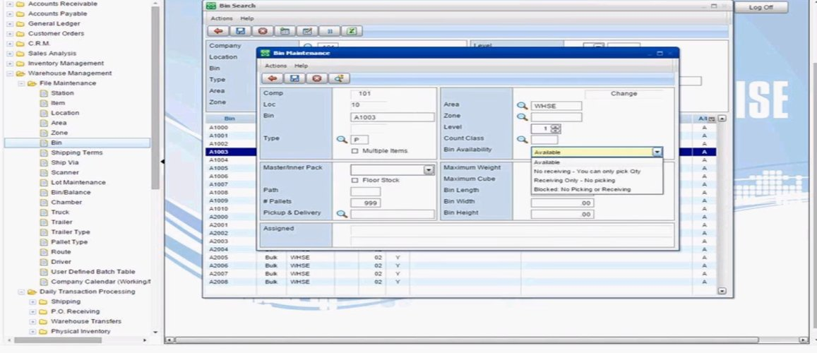 S2K Warehouse WMS Software Profile-From Explore WMS